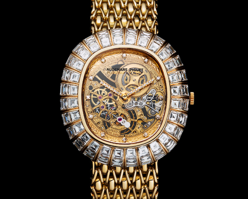 The 1988 openworked jewellery watch