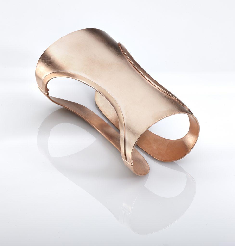 Polina-Sapouna-Ellis -dorianL2S-rose-gold-plated-cuff-bangle