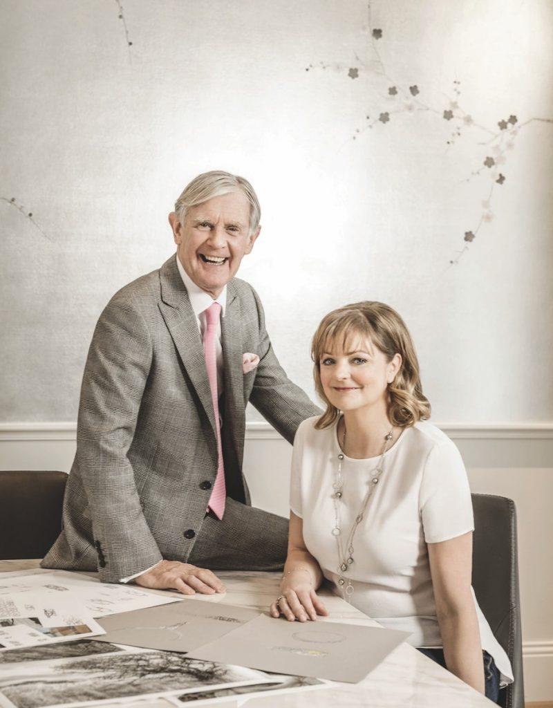 Boodles-chairman-Nicholas-Wainwright-Head-of-design-Rebecca-Hawkins