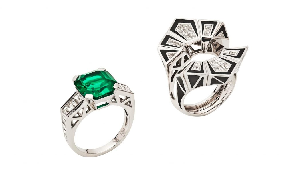 Stephen-Webster-Dynamite-Couture-detachable-emerald-and-diamond-ring
