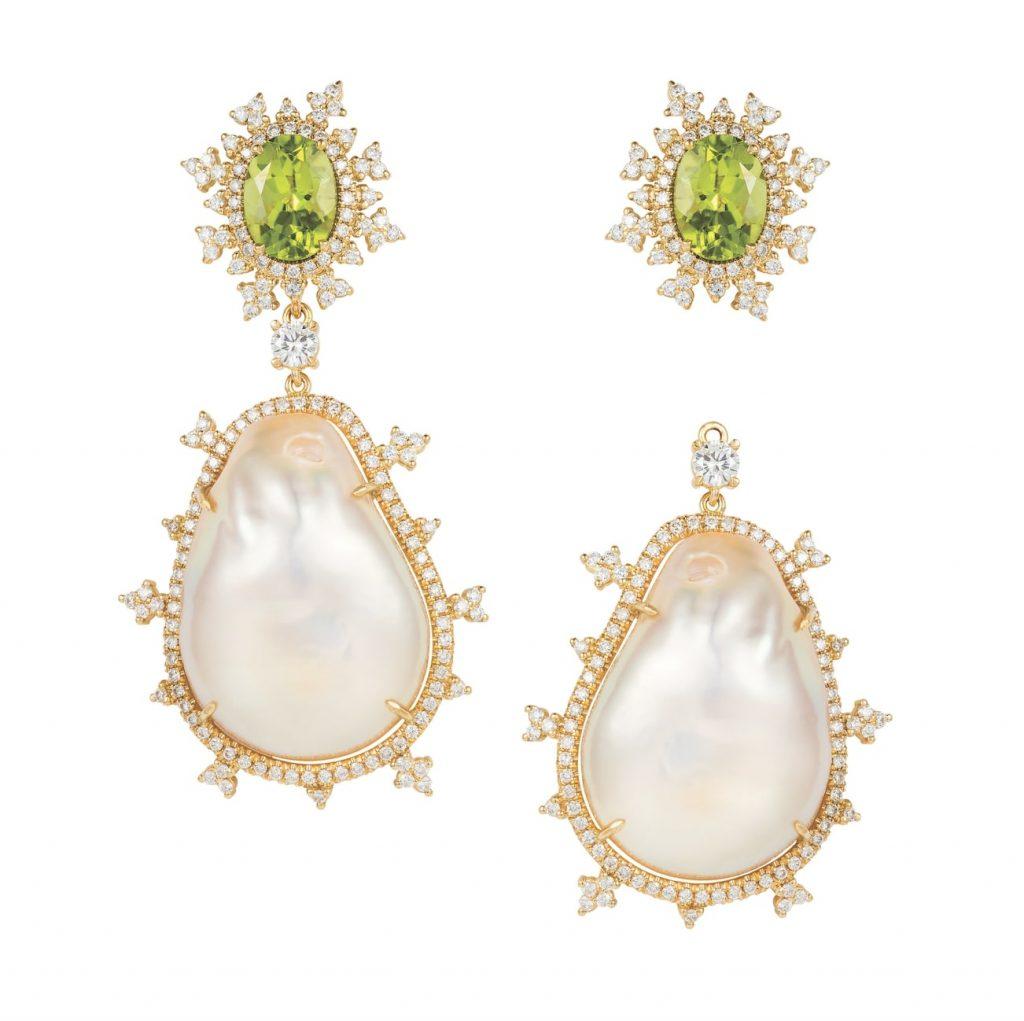 Nadine-aysoy-tsarina-earrings-baroque-pearls-peridots