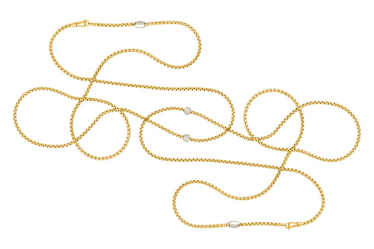 FOPE jewellery necklaces; Eka tiny collection