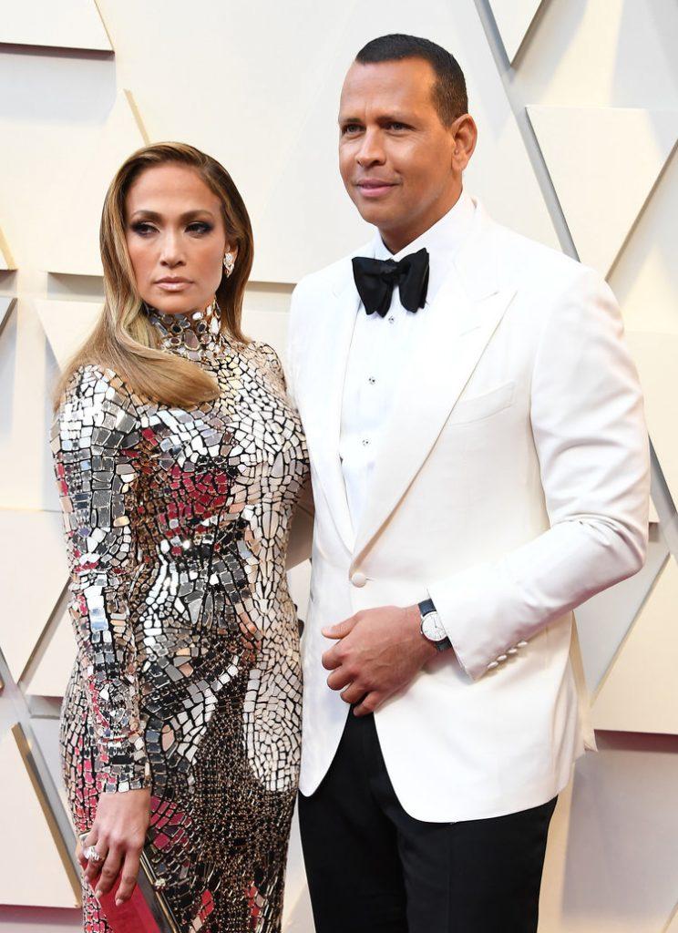 Jennifer Lopez fashion at Oscars 2019