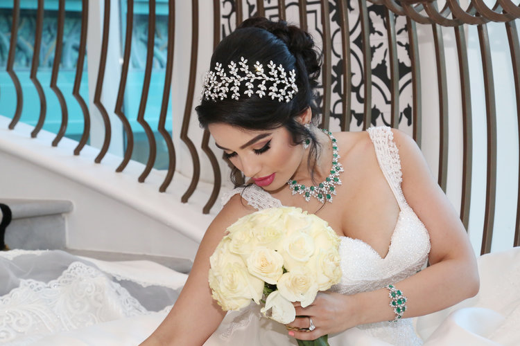 Arabic bridal jewellery