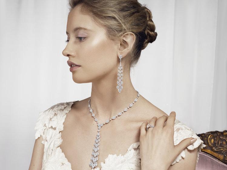 bridal jewellery diamonds