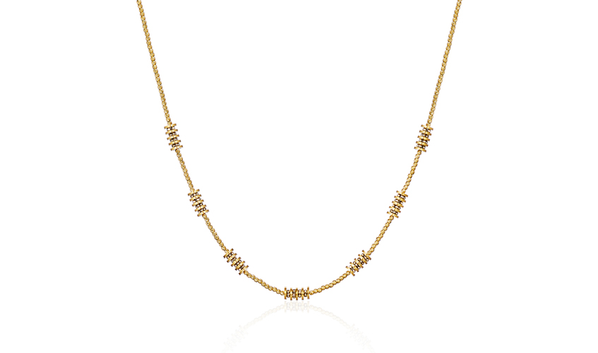 The Eternal Loop necklace from Si Dian Jin collection, POH HENG